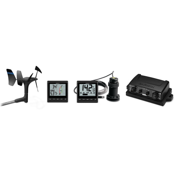 Garmin GNX Wind Wired Sail Pack w-GNX Wind, GNX 20, gWind Wired Transducer, GND 10, DST800