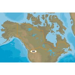 C-MAP MAX NA-M048-SD Canadian Lakes - SD Format