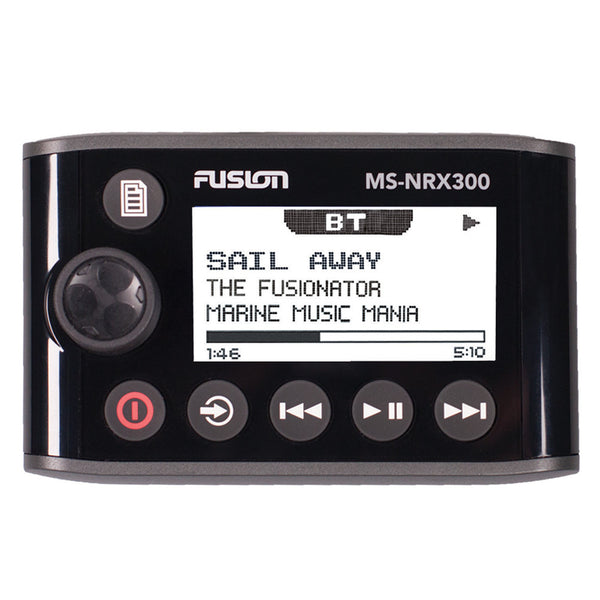 FUSION NRX300 Wired Waterproof Remote Control f-70, 200, 205, 650, 750 - Full Function w-Zone Control