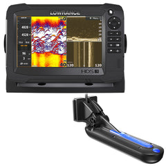 Lowrance HDS-7 Carbon MFD with TotalScan Transom Mount Transducer