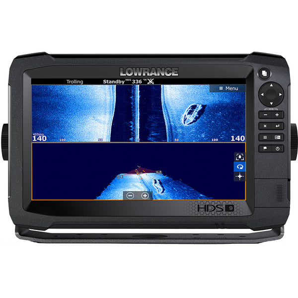 Lowrance HDS-9 Carbon MFD with C-map Insight No Transducer