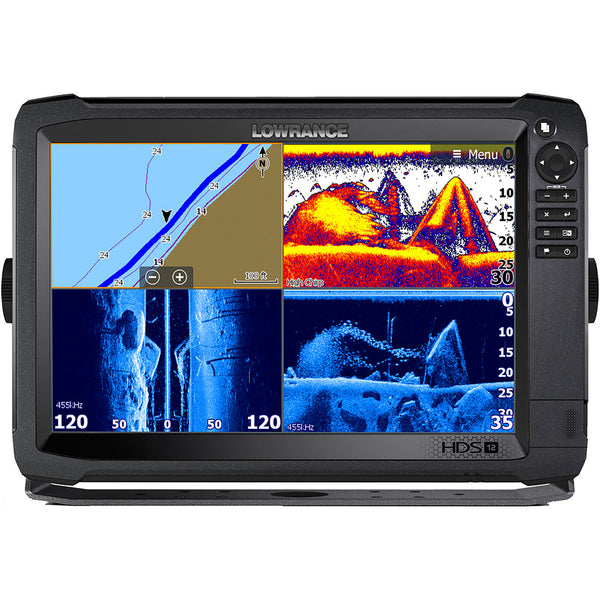 Lowrance HDS-12 Carbon MFD with C-Map Insight No Transducer