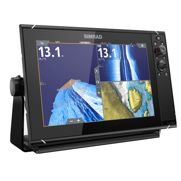 Simrad NSS12 evo3 Chartplotter-Fishfinder with Insight Chart