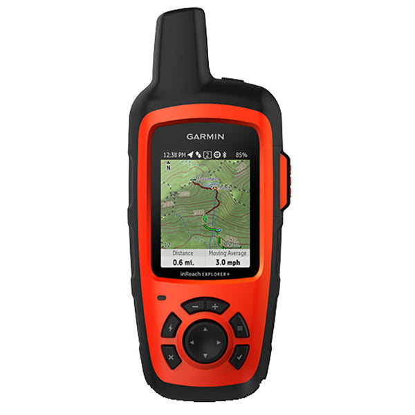 Garmin inReach Explorer+ Satellite Communicator w-Maps & Sensors