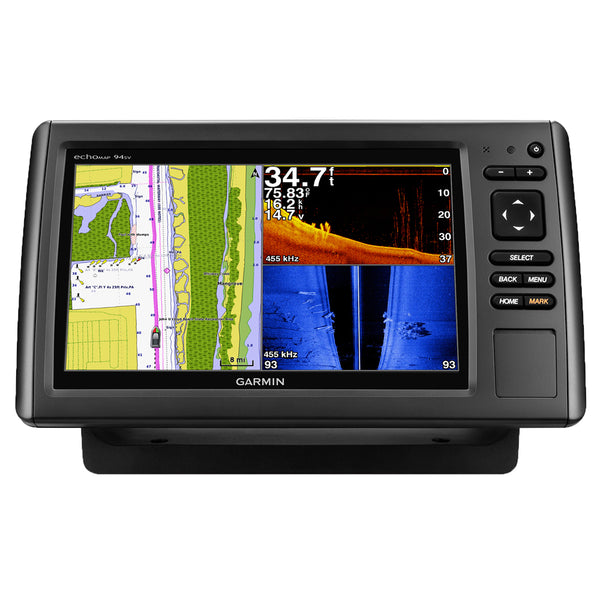 Garmin echoMAP 94sv with BlueChart g2 without Transducer - *Remanufactured