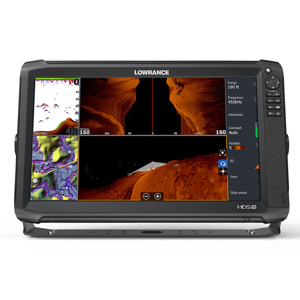 Lowrance HDS-16 Carbon MFD w-C-Map Insight - No Transducer