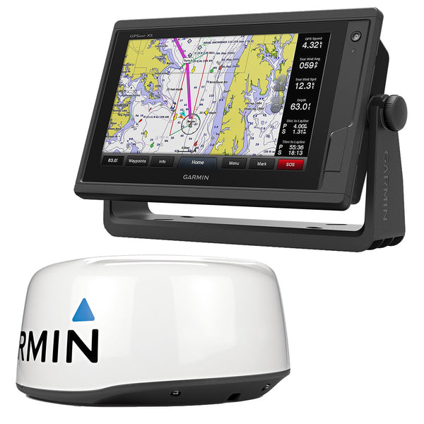 Garmin GPSMAP 942xs Display w-GMR 18 HD+ Radar Bundle