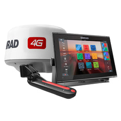 Simrad GO12 XSE Combo Package w-4G Radar  TotalScan Transducer