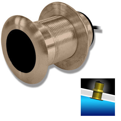 AIRMAR 50/200KHZ Bronze Low Profile Depth/Temp - B117-DT-DED7