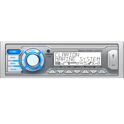 Clarion Bluetooth AM/FM/USB/MP3/WMA Receiver