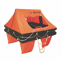 Revere Coastal Commander 2.0 Liferaft - 6 person capacity - Valise Packed