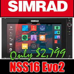 Simrad NSS16 evo2 Chartplotter - Multifunction Display - Reman