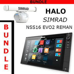 Simrad NSS16 evo2 Reman With Halo 6 Radar Bundle