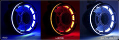 Wet Sounds LED Light Ring Kit - Fits 6.5 Inch Speakers - Pair - Blue