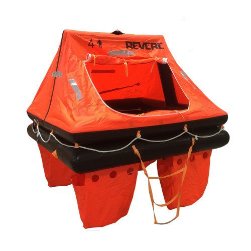Revere Offshore Commander 2.0 Liferaft - 4 Person Capacity - Container Packed