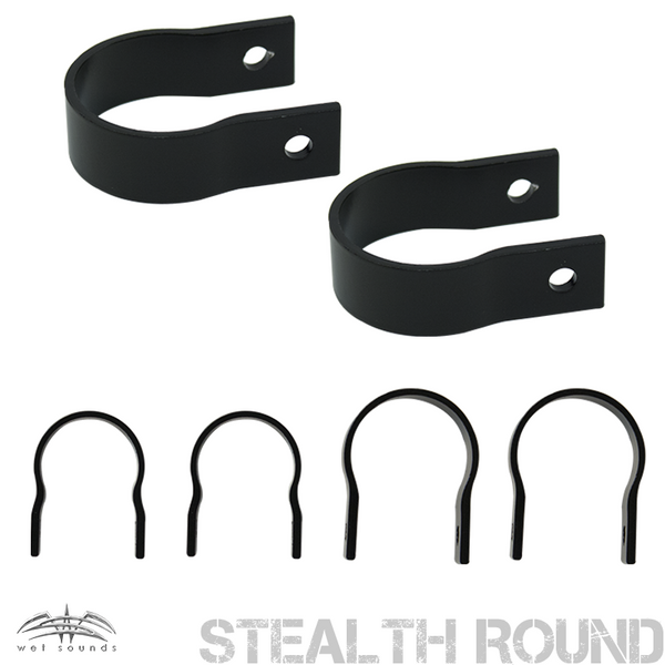 Wet Sounds Stealth Clamp – Round - FREE Shipping