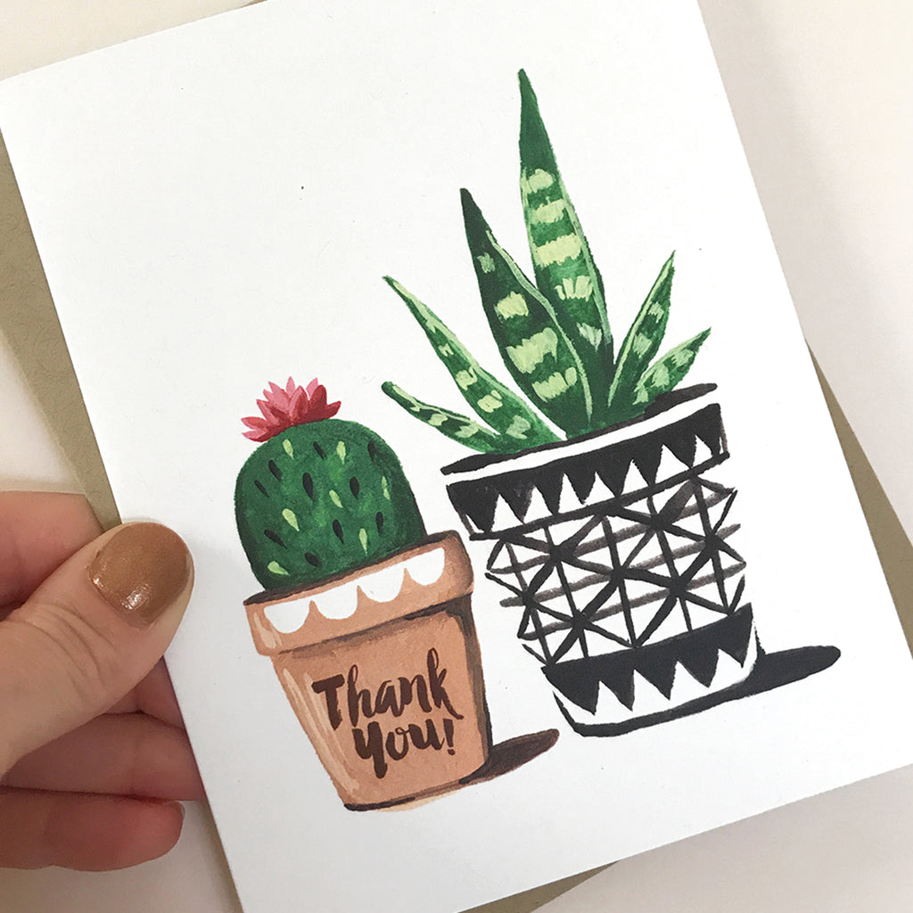 Thank You Plants Card