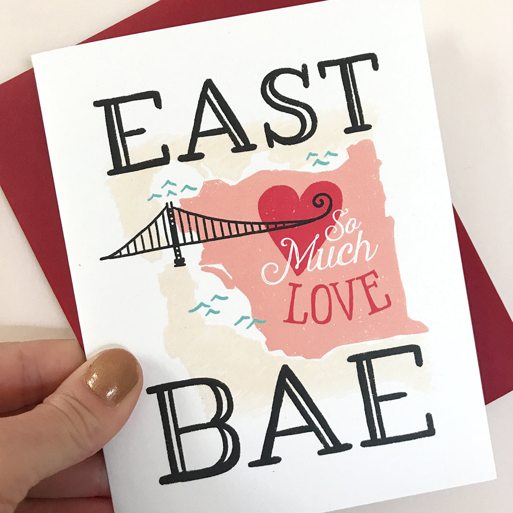 East Bae Love Card