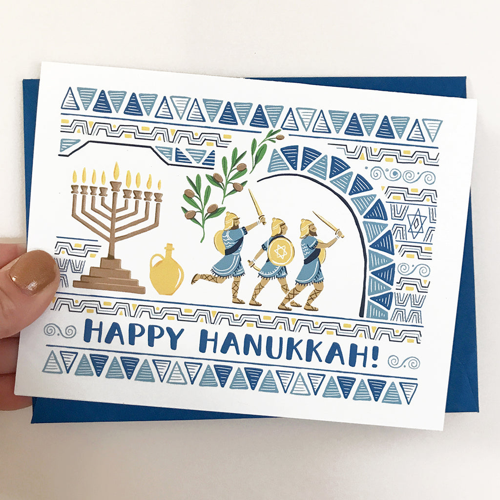 Mighty Maccabees Card