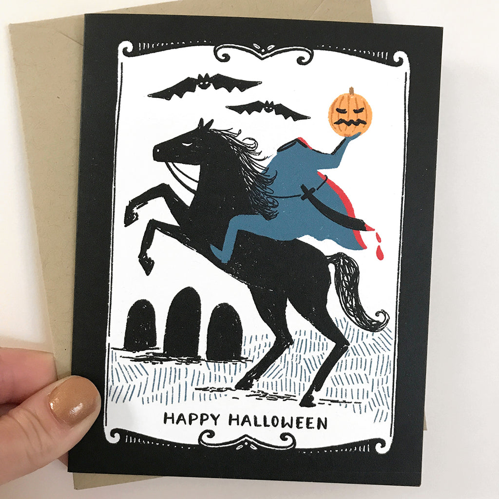 Headless Horseman Card