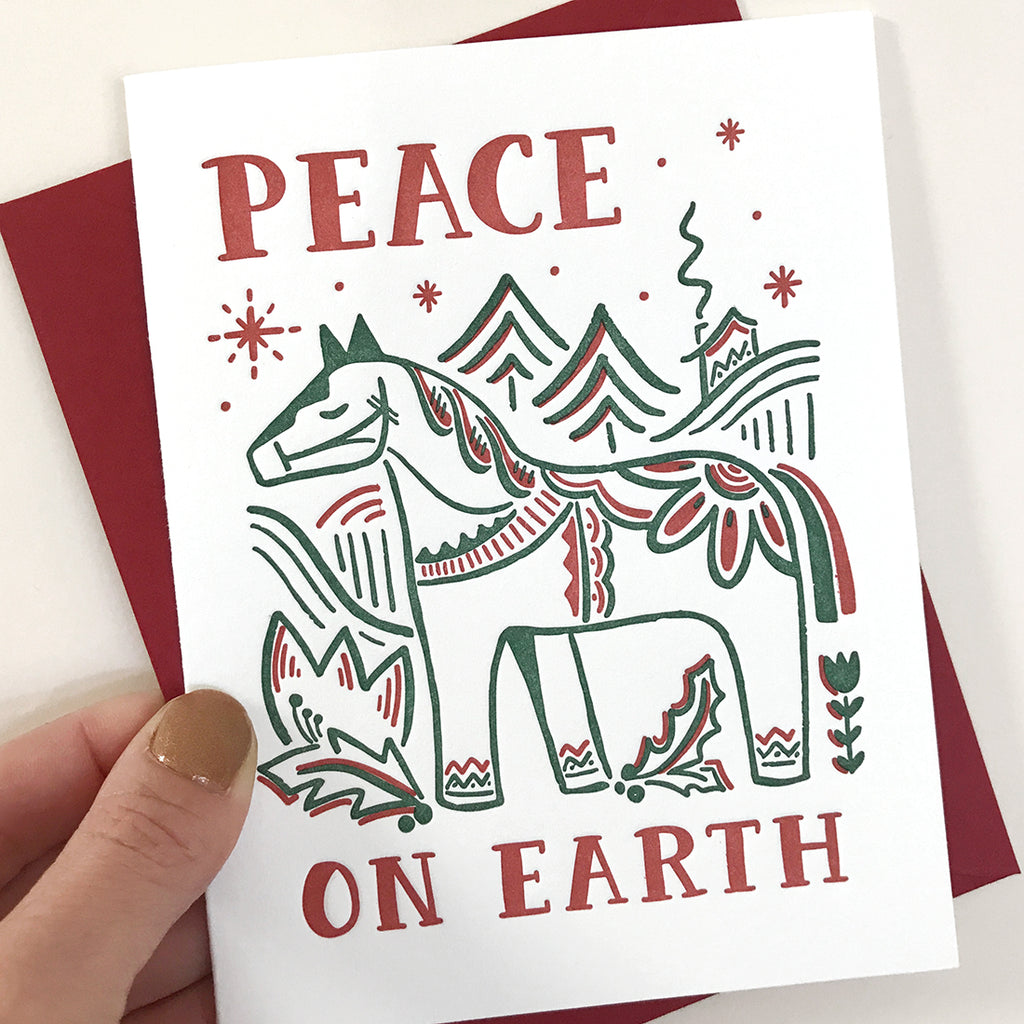 Peace Pony Card