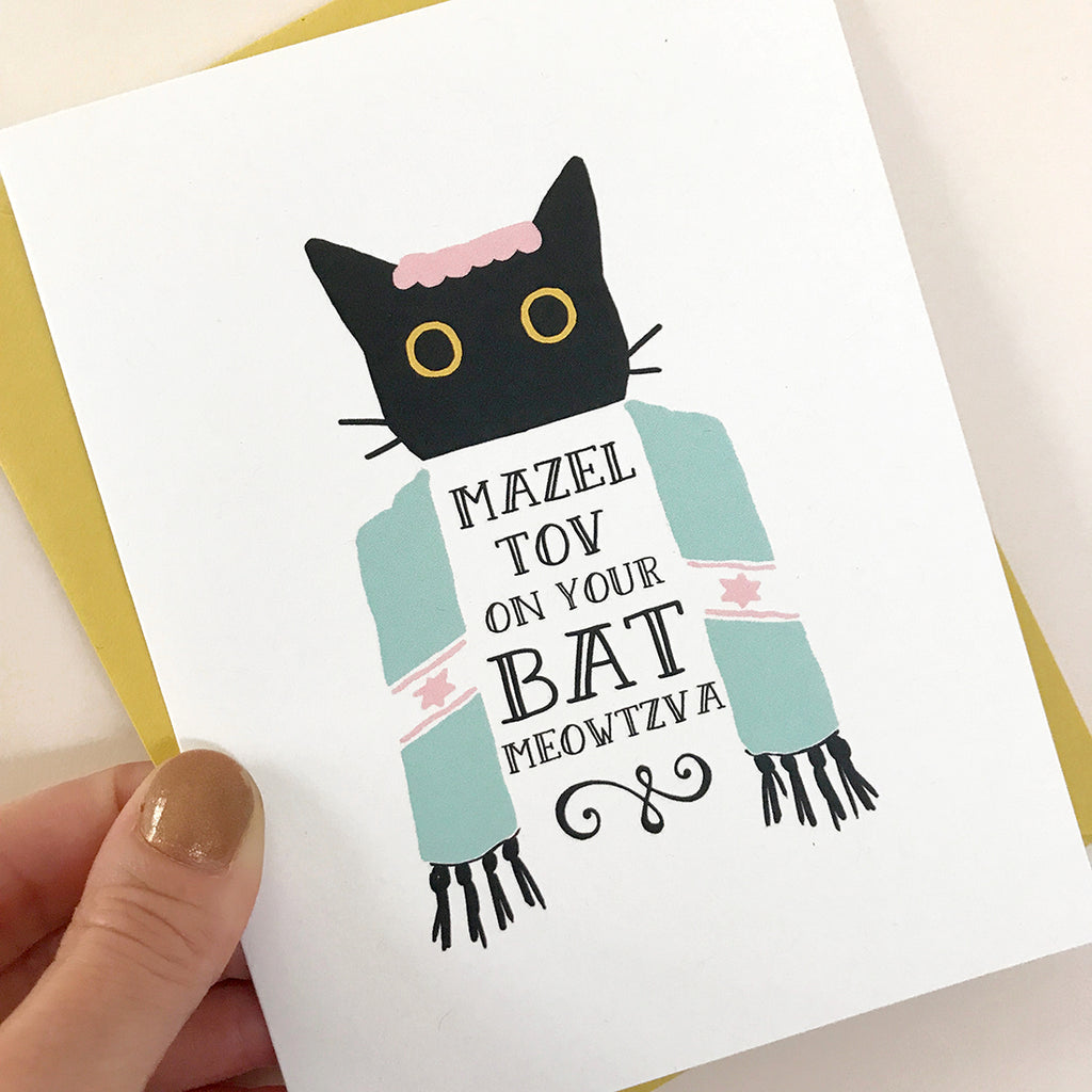 Bat Meowtzva Card