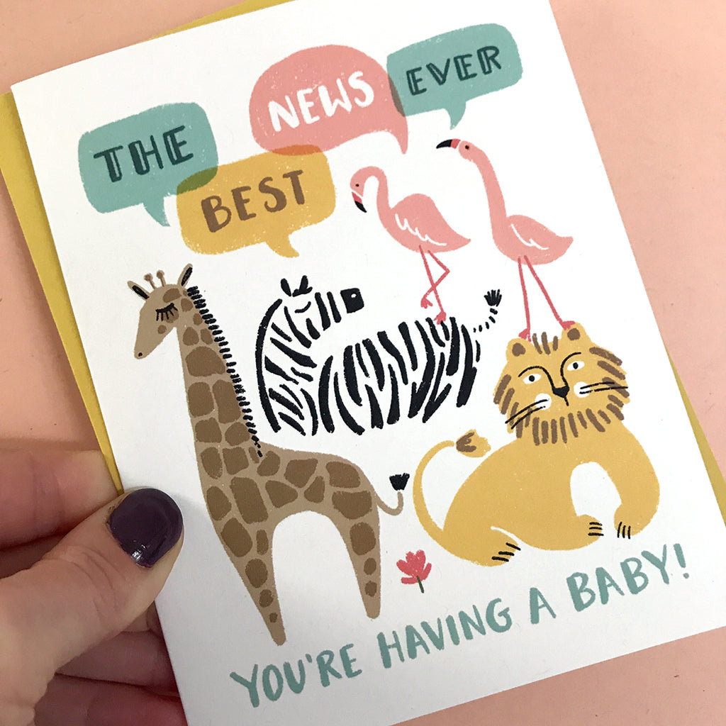Best News Baby Card