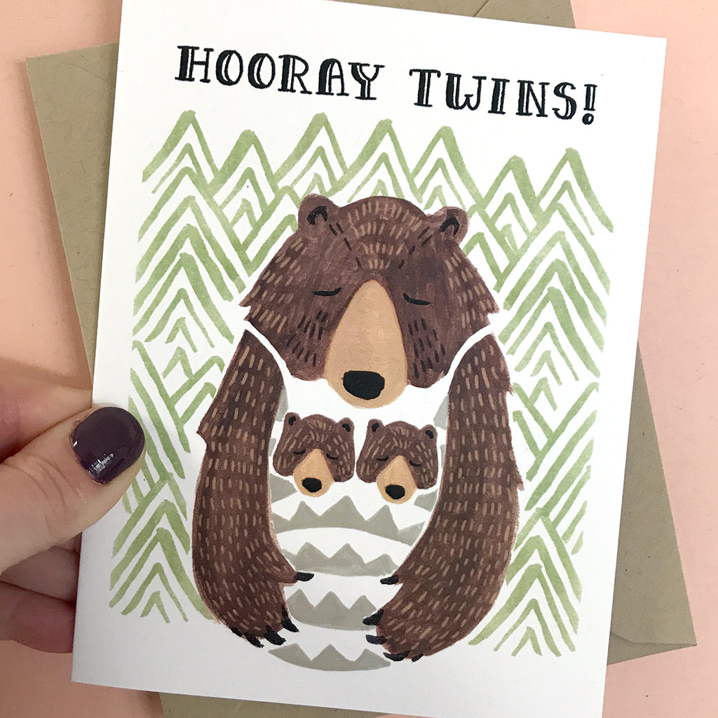 Hooray Twins! Card