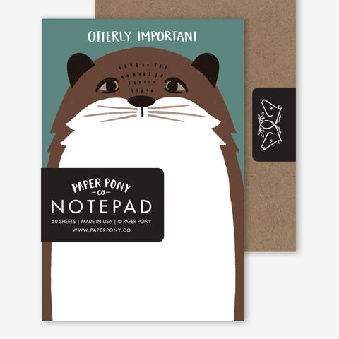 Otterly Important Notepad, Notepads - Paper Pony Co.