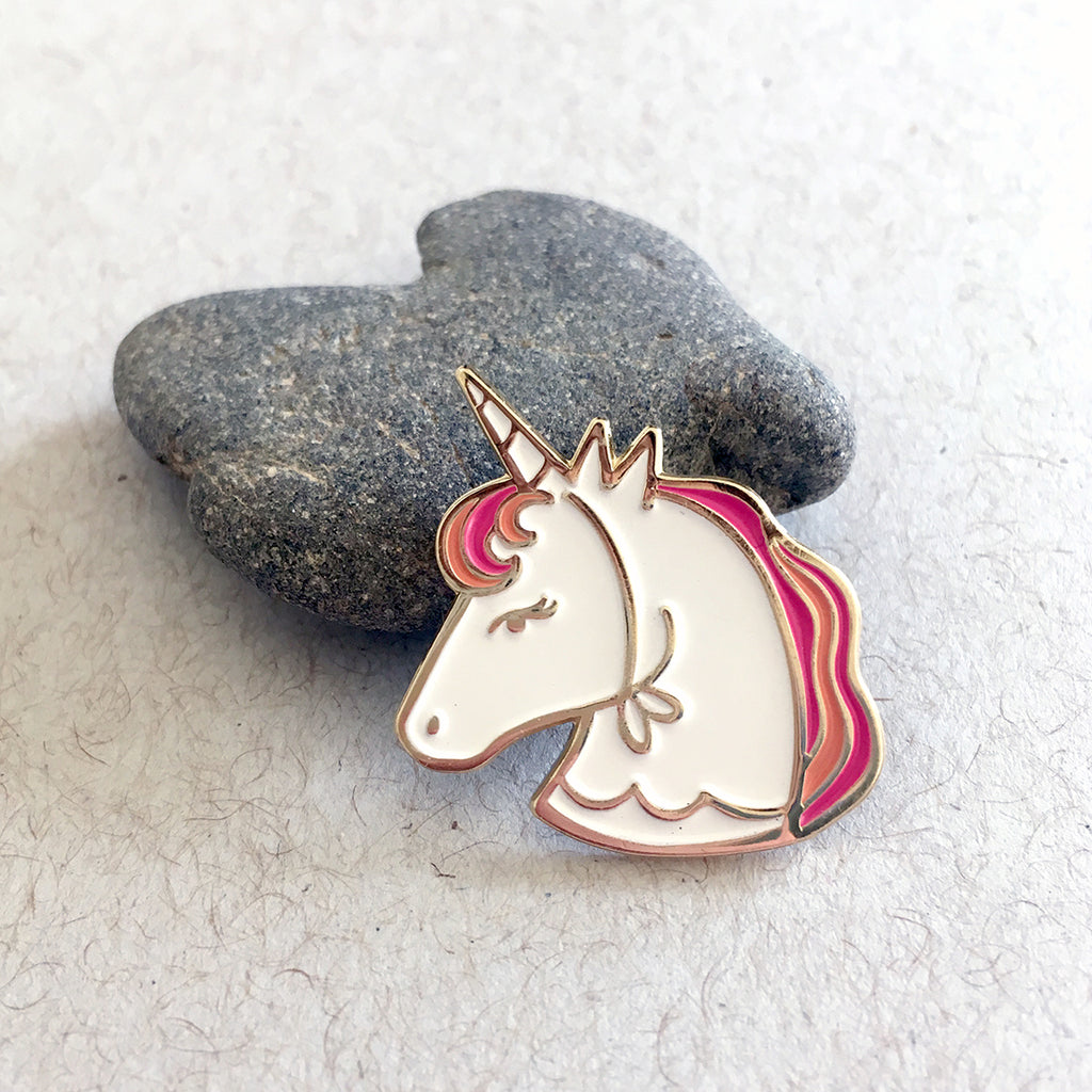 Life of the Party Unicorn Enamel Pin, Enamel Pins - Paper Pony Co.