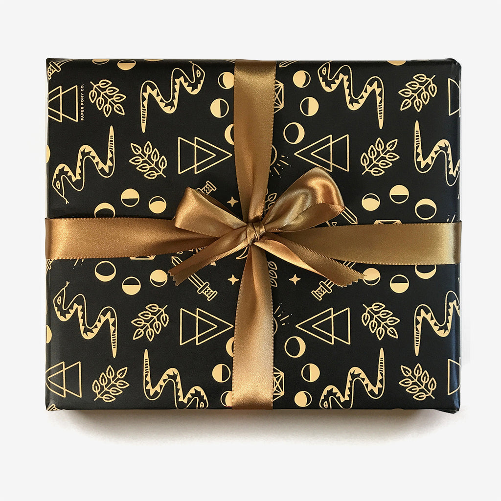 Many Moons Gift Wrap, Gift Wrap - Paper Pony Co.