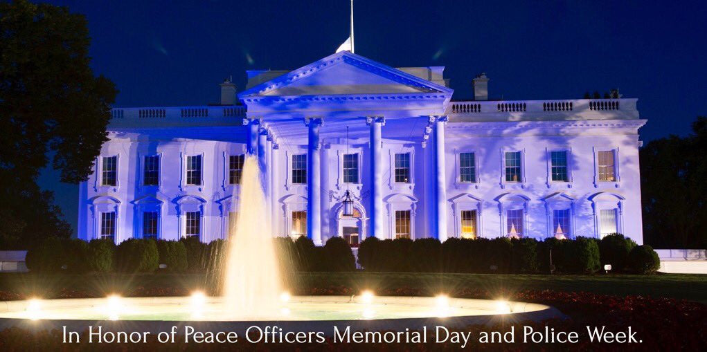 President Trump on Peace Officers Memorial Day & Police Week, 2017