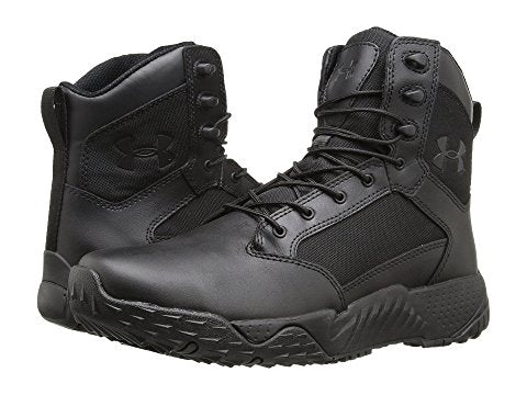 Under Armour Stellar Tactical Side Zip Black Boot