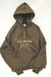 It's All About Brown Hooded Sweatshirt