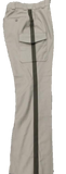 Blauer Tan Side-Pkt Rayon Blend Cargo Uniform Pant w/Brown Stripe
