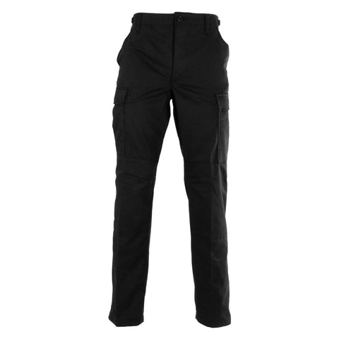 Propper Poly / Cotton Ripstop BDU Pants- Black
