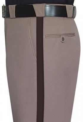 "Flying Cross Tan w/1"" Brown Stripe Sheriff Pant"