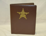 Indiana Sheriff Leather Padfolio