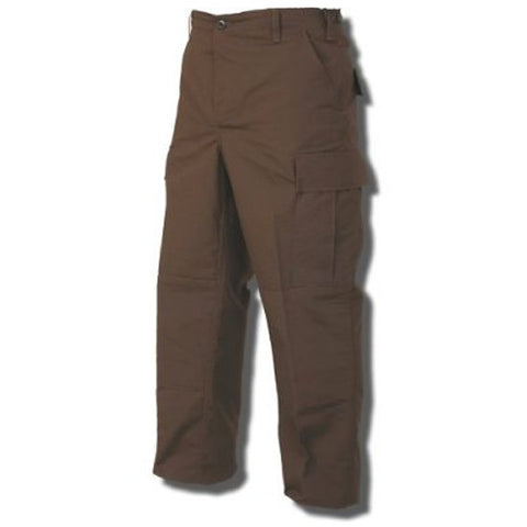 TRU-SPEC Poly/Cotton Ripstop BDU Pant - Brown
