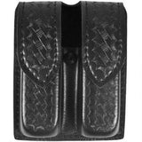 Safariland Basketweave Double Mag Pouch - Model 77