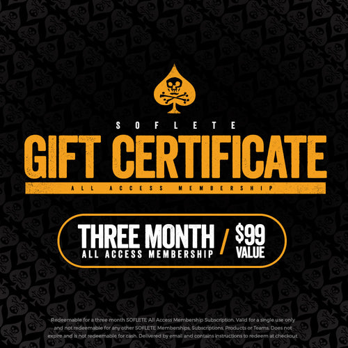 Training Team Gift Certificate - 3 Months