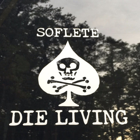 DIE LIVING Vinyl Decal