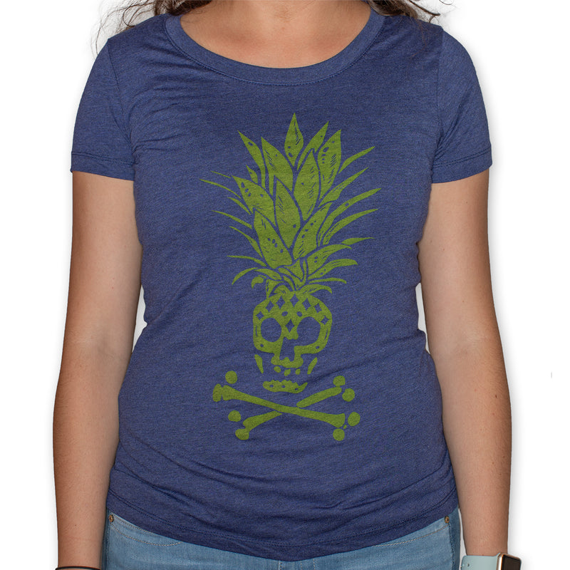 Women's Pineapple Skull