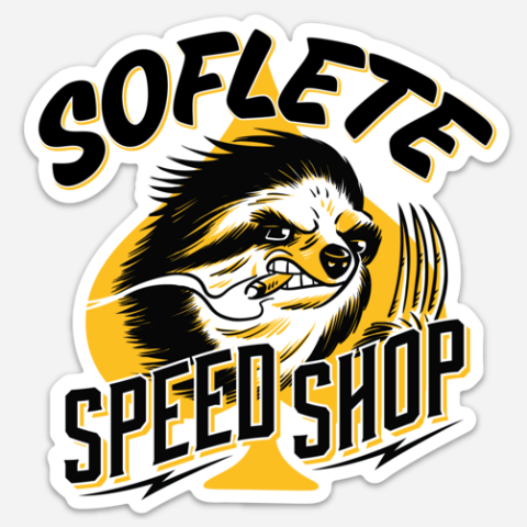 Speed Shop Decal