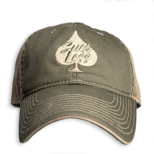 Suck Less Hat (Olive)