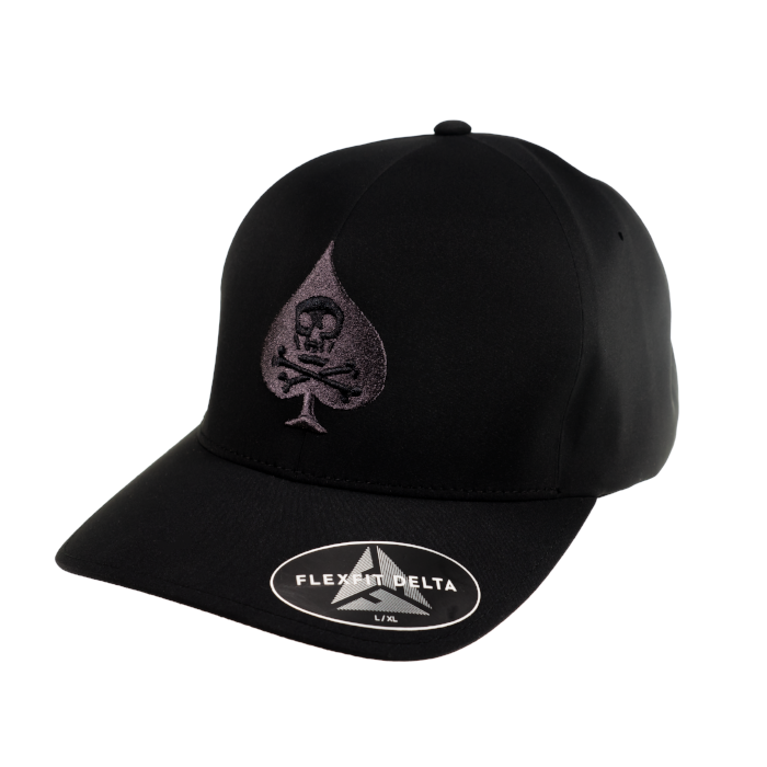 Black on Black - The Gray Fox Hat