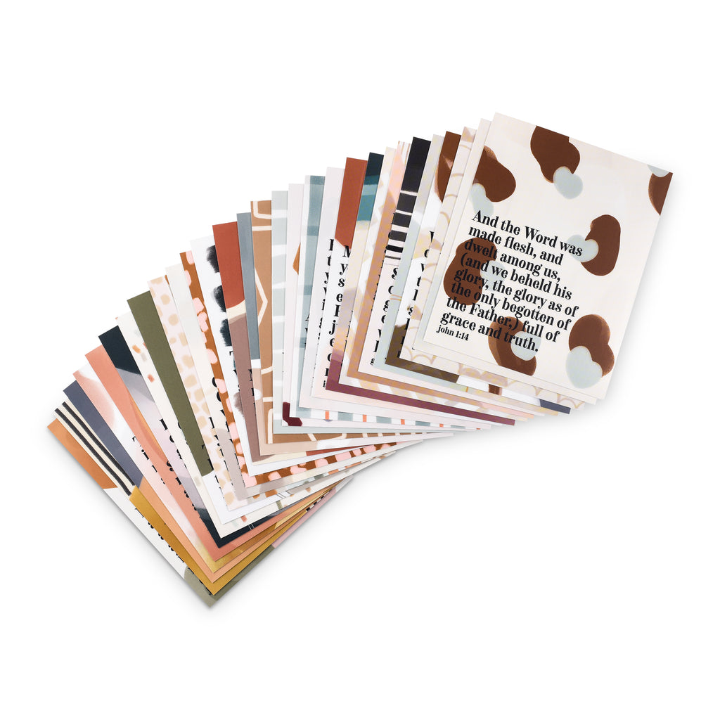 VOLUME 3 - Set of 52 Scripture Memory Cards - KJV