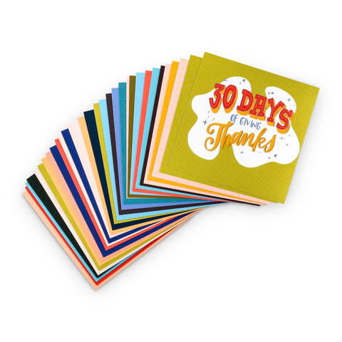 30 Days of Giving Thanks Cards