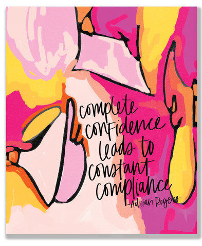 Complete Confidence Quote