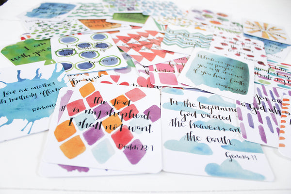 EDITION 1 - Set of 52 Scripture Memory Cards